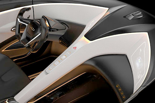 Chevrolet Miray Roadster Concept Coche Car